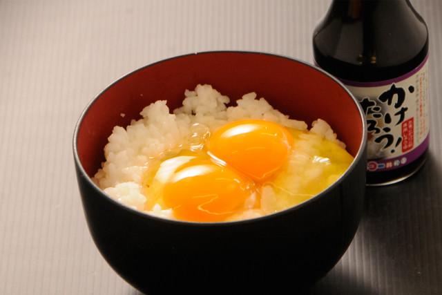 【やまぶき】卵かけご飯セット