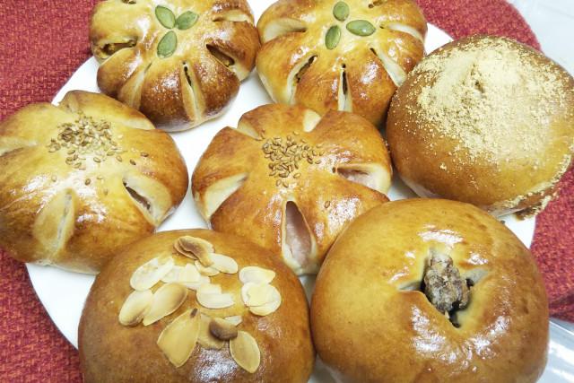 【わかたけ】天然酵母パン各種詰合わせ