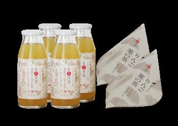 【わかたけ】りんごジュース・りんご葉の茶