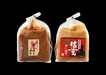 【やまぶき】信州武田味噌 こだわり2種詰合せ