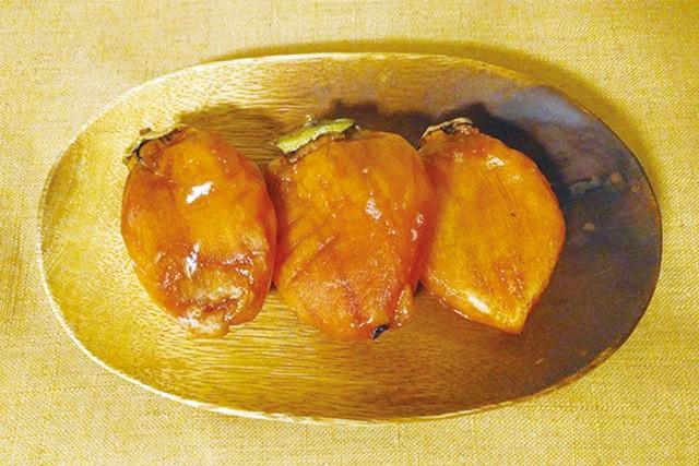 西条柿の干し柿